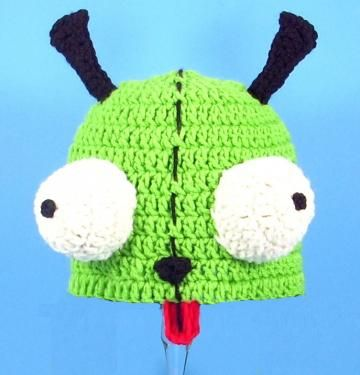 Gir Hat / Beanie from Invader Zim by CutieHats for $25.00 | Clothing ...