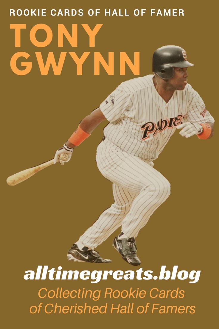 Tony Gwynn Rookie Cards Gwynn Tony Cards