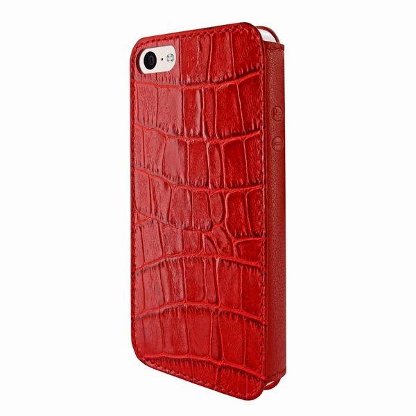 74931614353 Piel Frama 640 Red Crocodile FramaSlim Leather Case for Apple iPhone 5C -  Cases.com