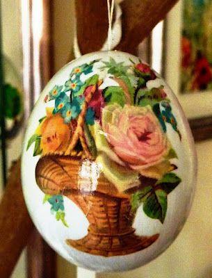 Decoupage per decorare le uova pasquali idee e trucchi - Idee per decorare uova di pasqua ...