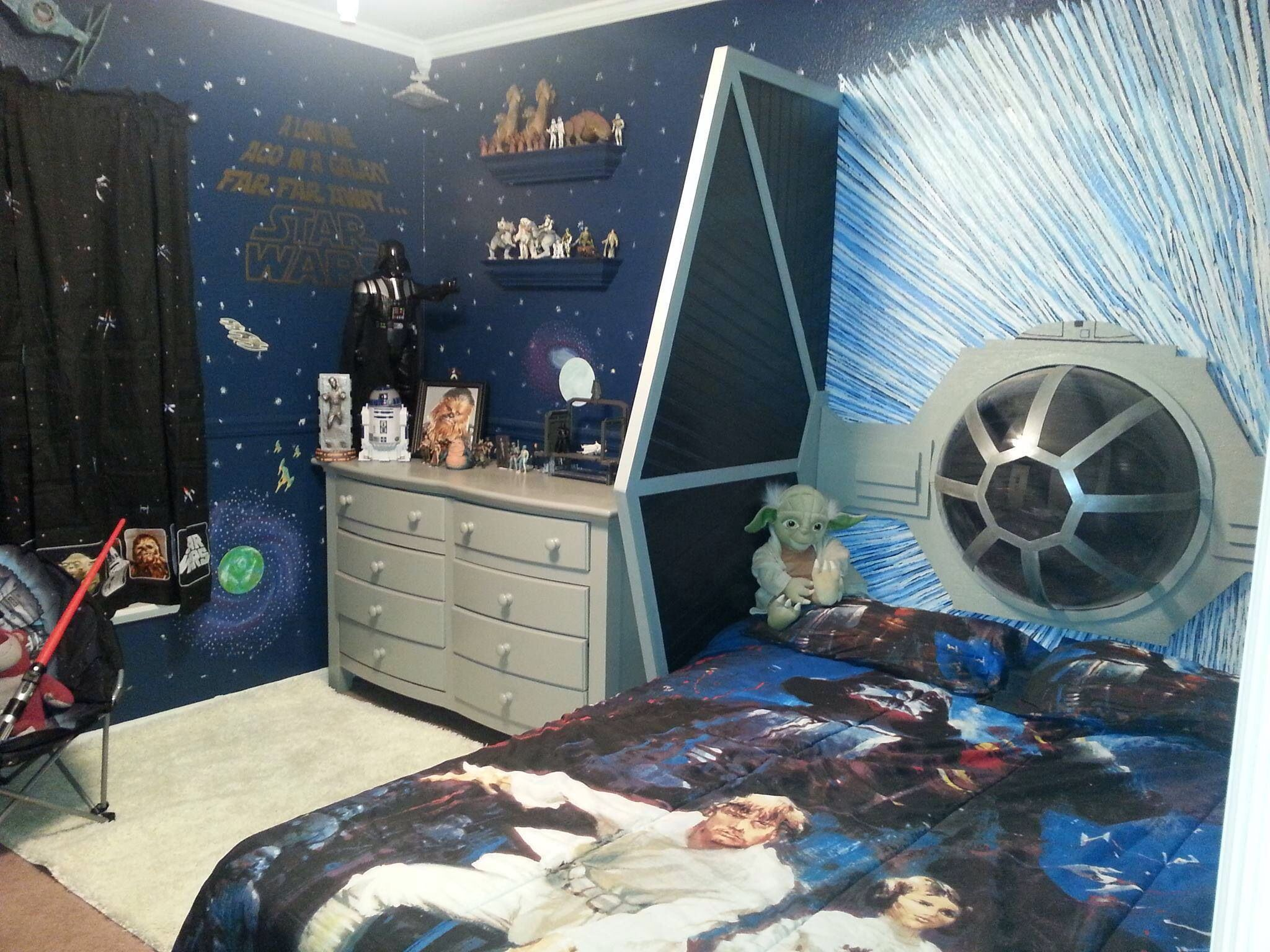 Star Wars room! | kids birthday parties | Pinterest | Star wars ...