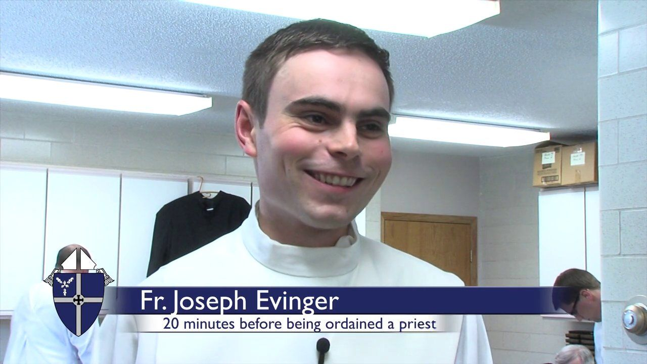 Ordination Thoughts 20 minutes before a Catholic
