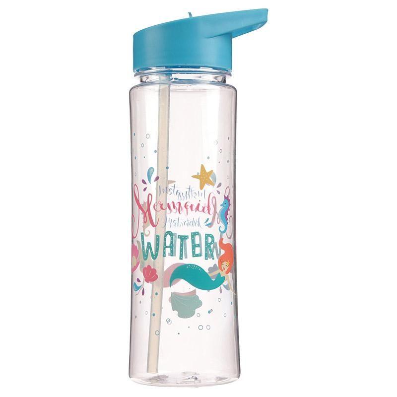 Cute Mermaid Design 500ml Water Bottle | Water Bottles in