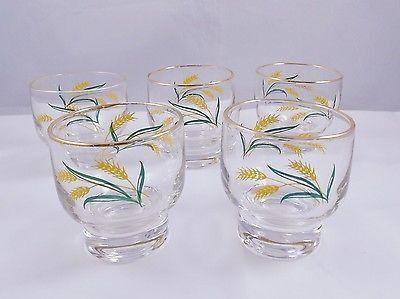 International China Juice Glasses Viking Wheat Set Of 5