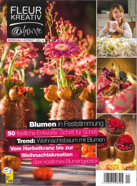 fleur kreativ special 24 2014 blumen in feststimmung floristik zeitschrift pinterest. Black Bedroom Furniture Sets. Home Design Ideas