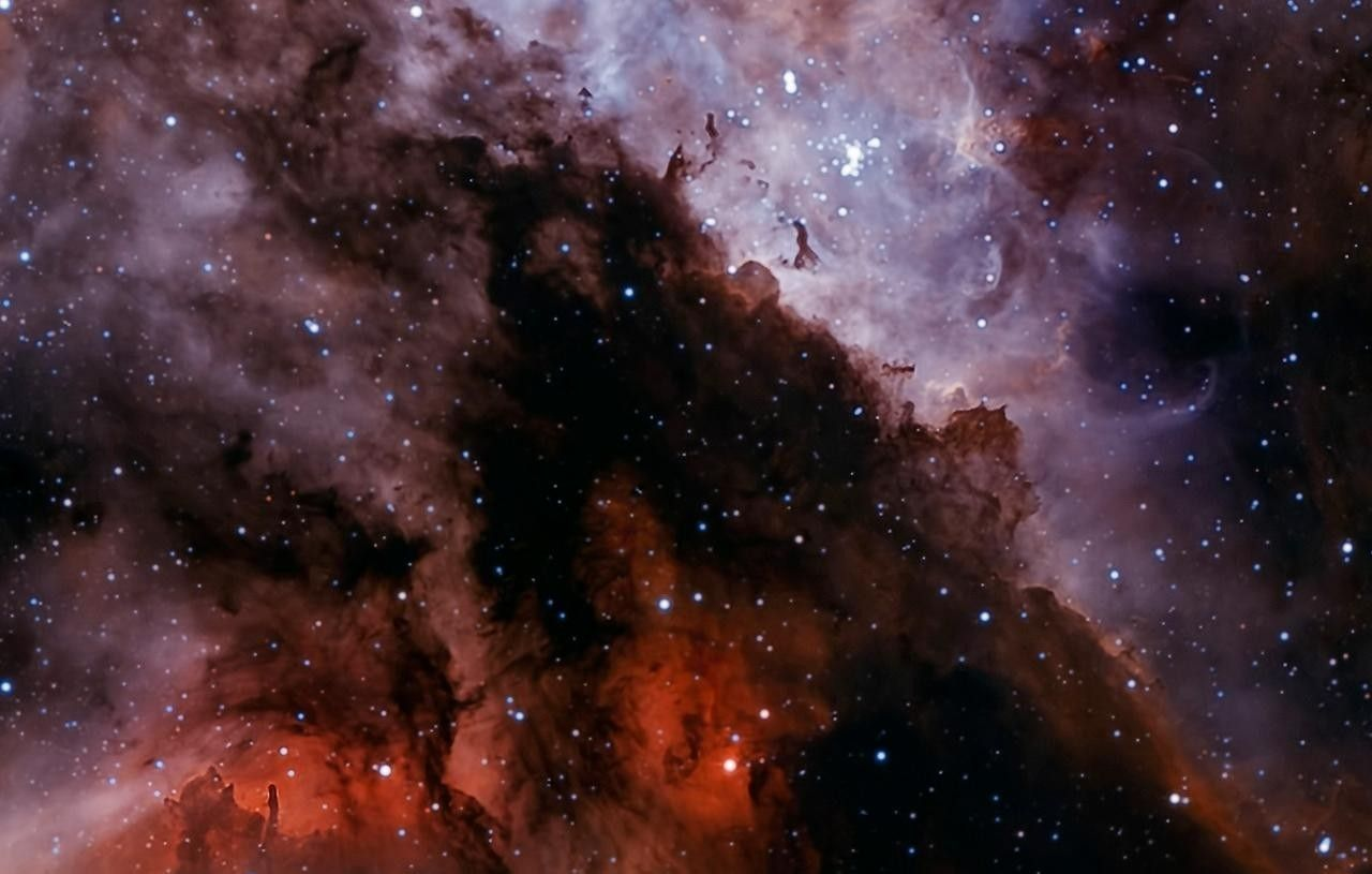 Widescreen Wallpaper Outer Space Stars Nebulae 1280x815 Via