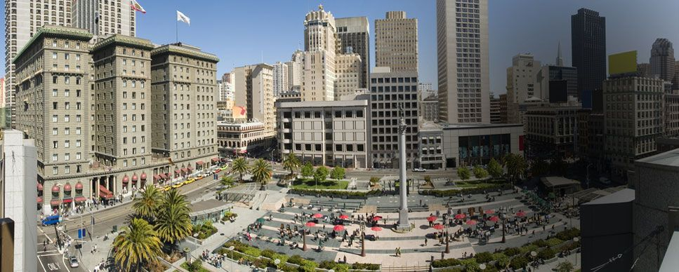 Union Square San Francisco Hotels Cartwright Hotel Area Guide