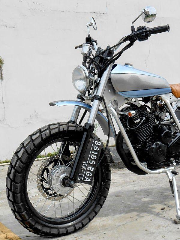 Yamaha Scorpio Modif Scrambler : yamaha, scorpio, modif, scrambler, Yamaha, Scorpio, Scrambler, BikeBrewers.com, Scrambler,, Yamaha,, Motorcycle