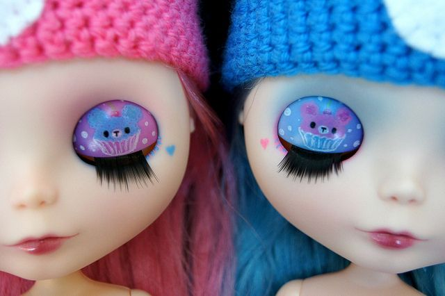 Kawaii Cupcake Twins by sglahe - Kaleidoscope Kustoms, via Flickr
