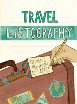 Travel Listography / Prompts and Lines give you space to list all the countries/cities you want to visit, cuisine you've tried/hope to try and memorable people you met, etc.