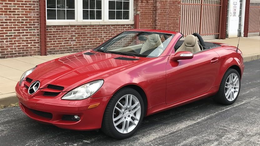 2008 Mercedes Benz Slk280 Convertible T18 Indy 2018 With