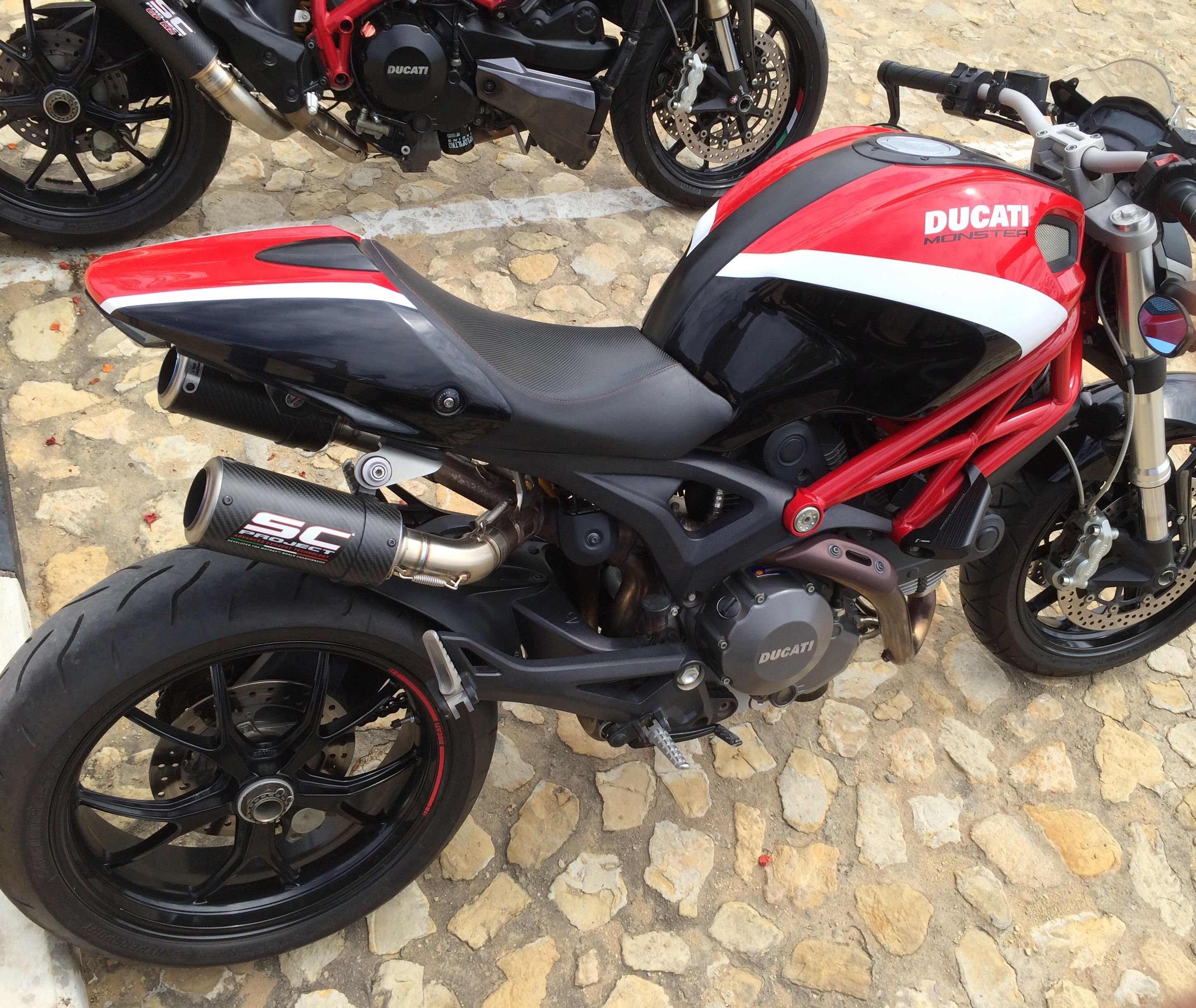 Sc Project And Rizoma Ducatimonsterbrapp With Images Ducati