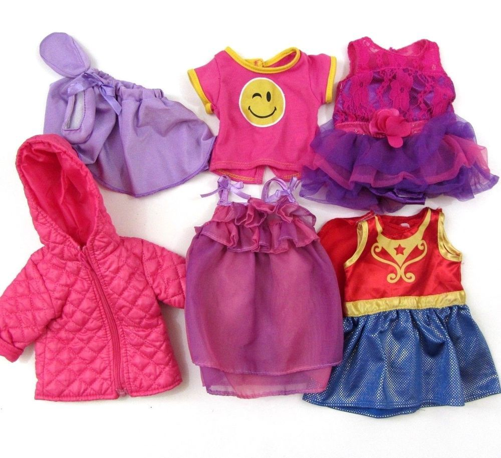 18 inch Doll Clothes by Funrise Toy Corp 10 lots