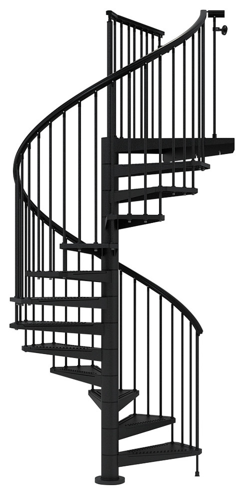 Best Sky030 Spiral Staircase Kit Contemporary Stair Parts 400 x 300
