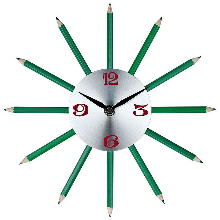 Pencil Wall Clock EEI-768