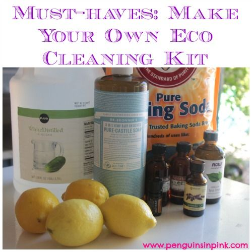 6 MUST-HAVES: MAKE YOUR OWN ECO CLEANING KIT