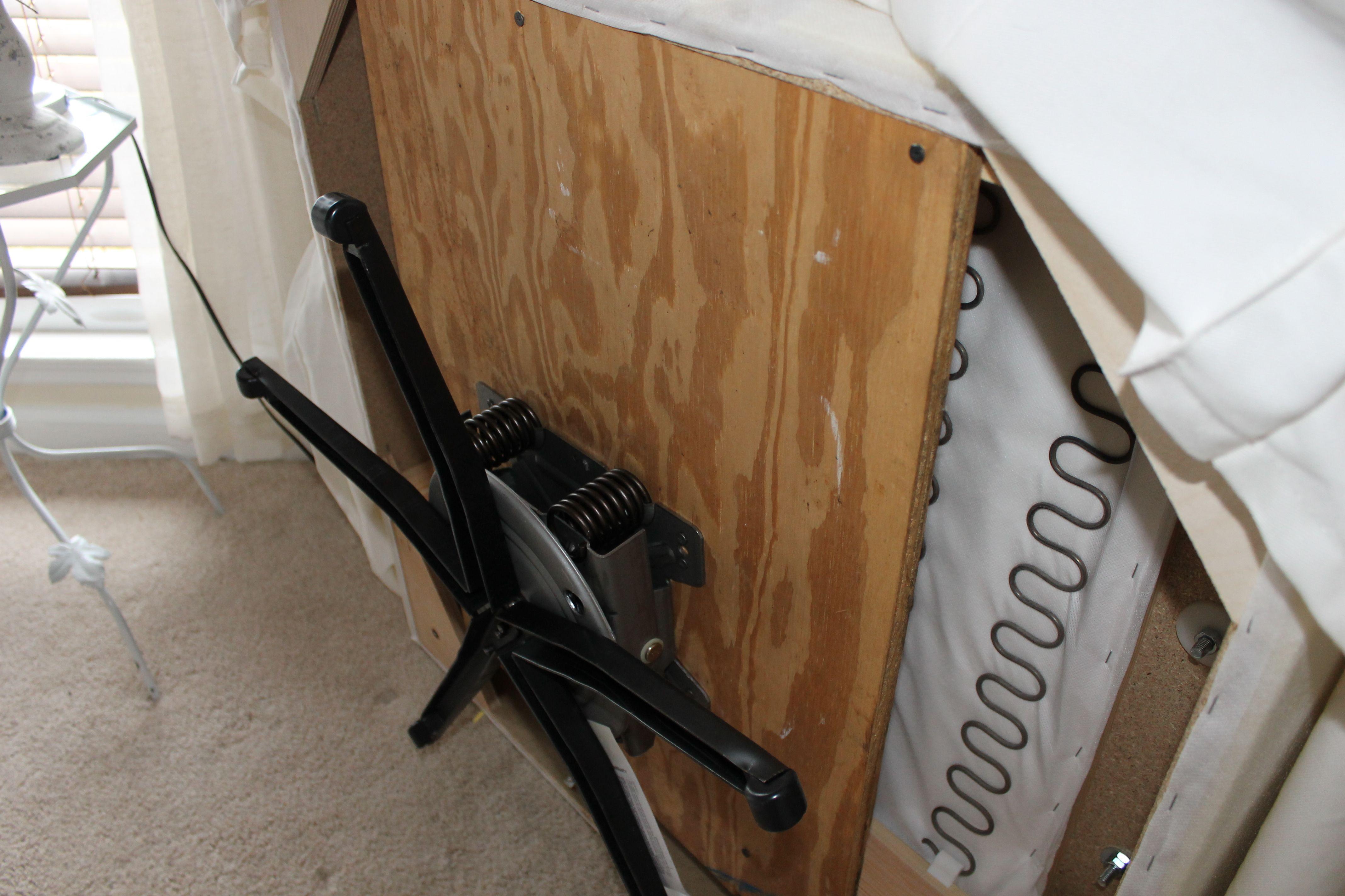 How to turn a chair into a glider/rocker Swivel rocker