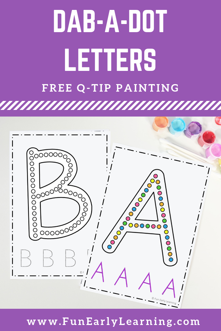 Dab A Dot Letters Q Tip Painting Fun Free Printable Dot Letters Q Tip Painting Dot Worksheets [ 1102 x 735 Pixel ]