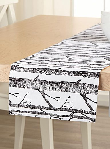 le chemin de table for t moderne 13x54 pouces simons. Black Bedroom Furniture Sets. Home Design Ideas
