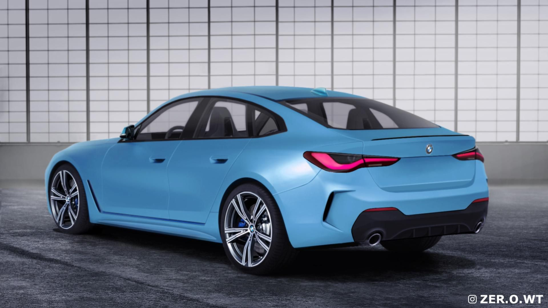 2021 Bmw 4 Series Gran Coupe Gets A Series Of Renderings In 2020