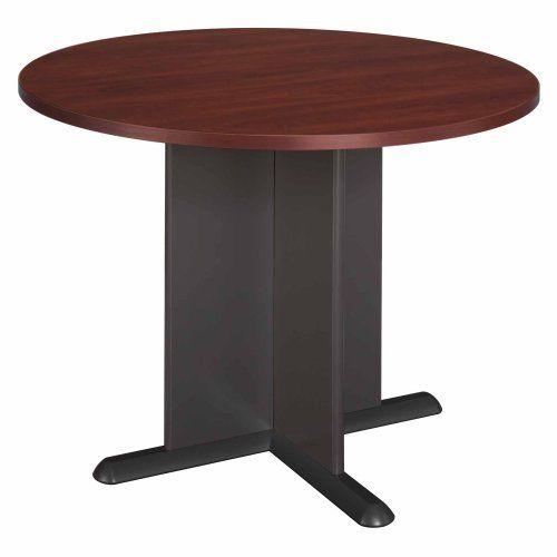 BushBusinessFurnitureInchRoundConferenceTableHansen - 36 inch round conference table