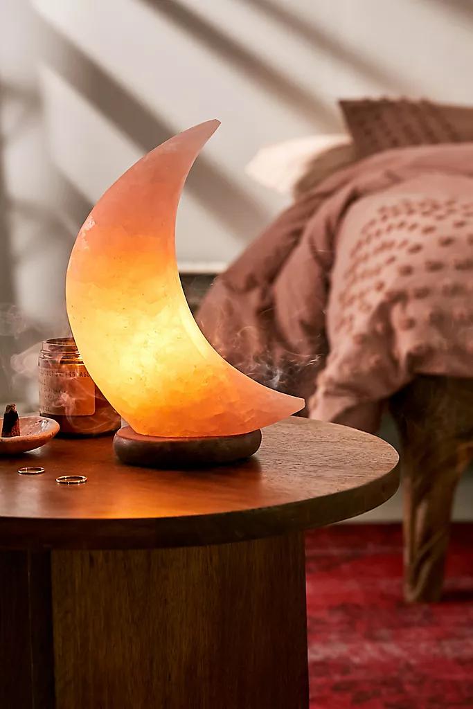 Moon Himalayan Salt Lamp Himalayan Salt Lamp Salt Lamp Lamp