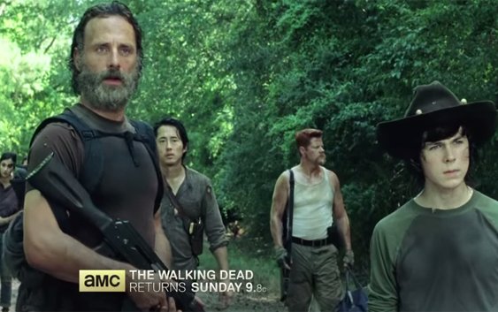 """Tráiler de la mitad de la quinta temporada de """"The Walking Dead"""". http://bit.ly/16AHC8e"""