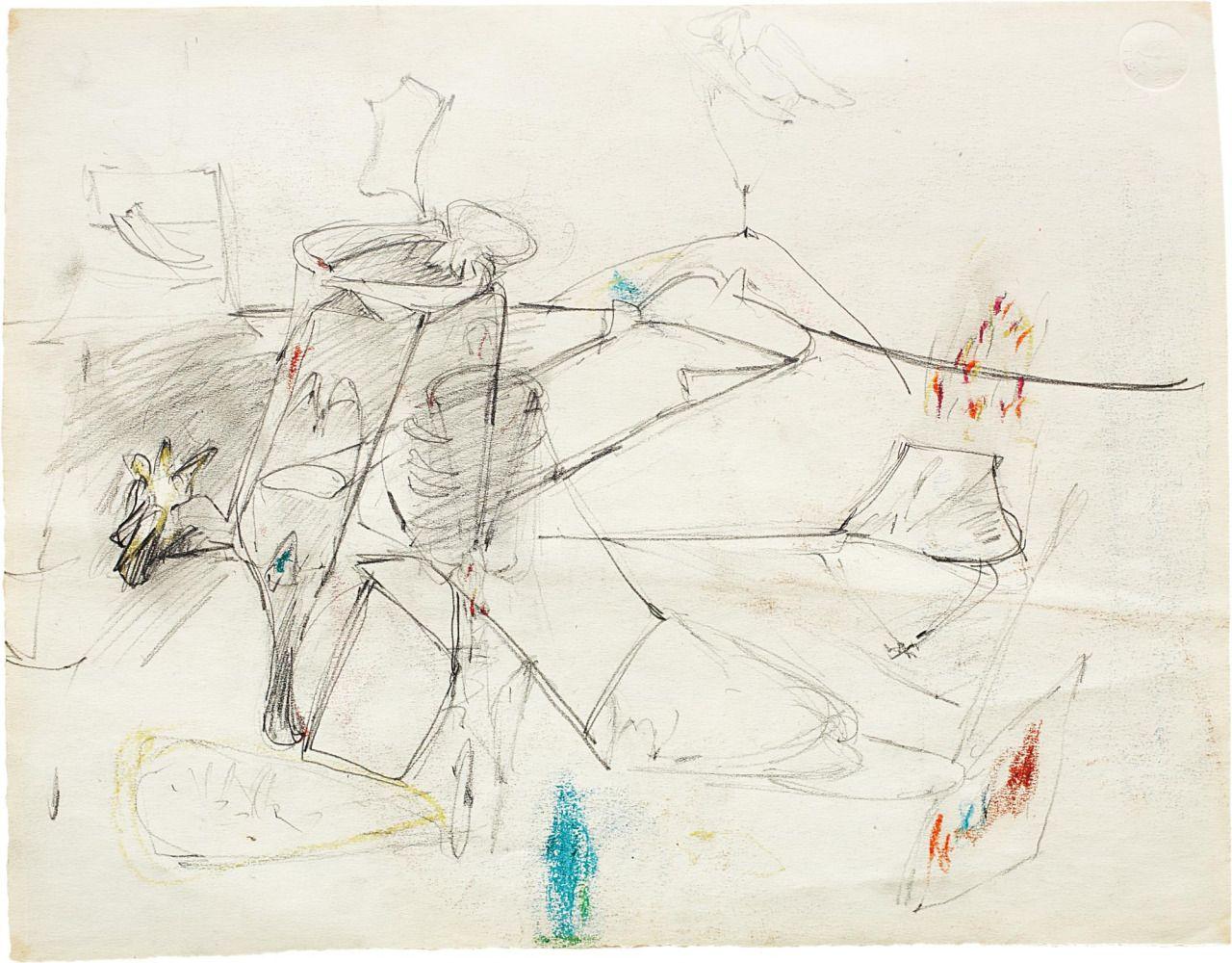 """paintedout: """" Arshile Gorky, Untitled """""""