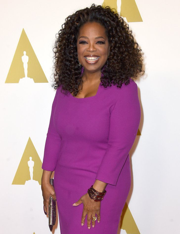 Pin for Later: Everyone in Hollywood Is an Oscar Presenter This Year Oprah Winfrey