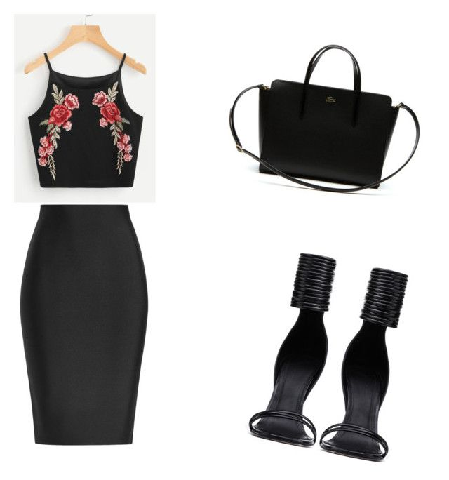"""""""Untitled #2"""" by sydney-83 on Polyvore featuring Roland Mouret, Rick Owens and Lacoste"""