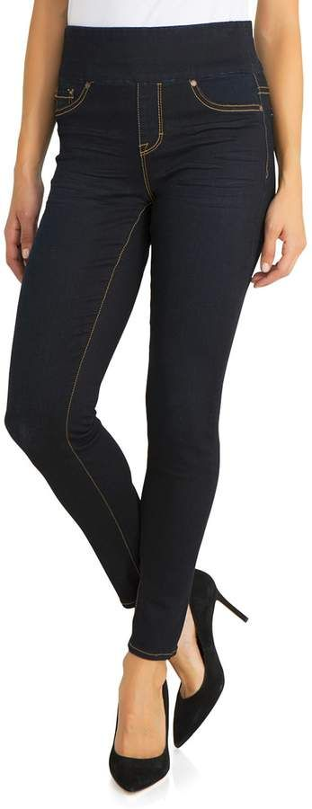 65f82a372ba1fa Jordache Women's Callie Wide-Waistband Pull On Jeggings | Products ...