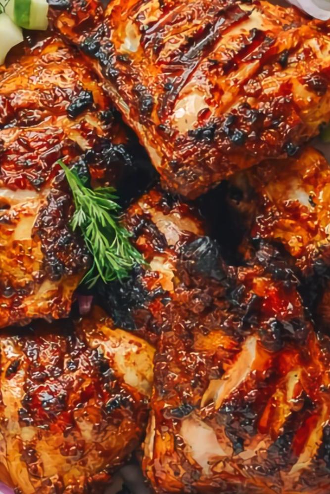 Grilled Tandoori Chicken Recipe #tandoorichicken