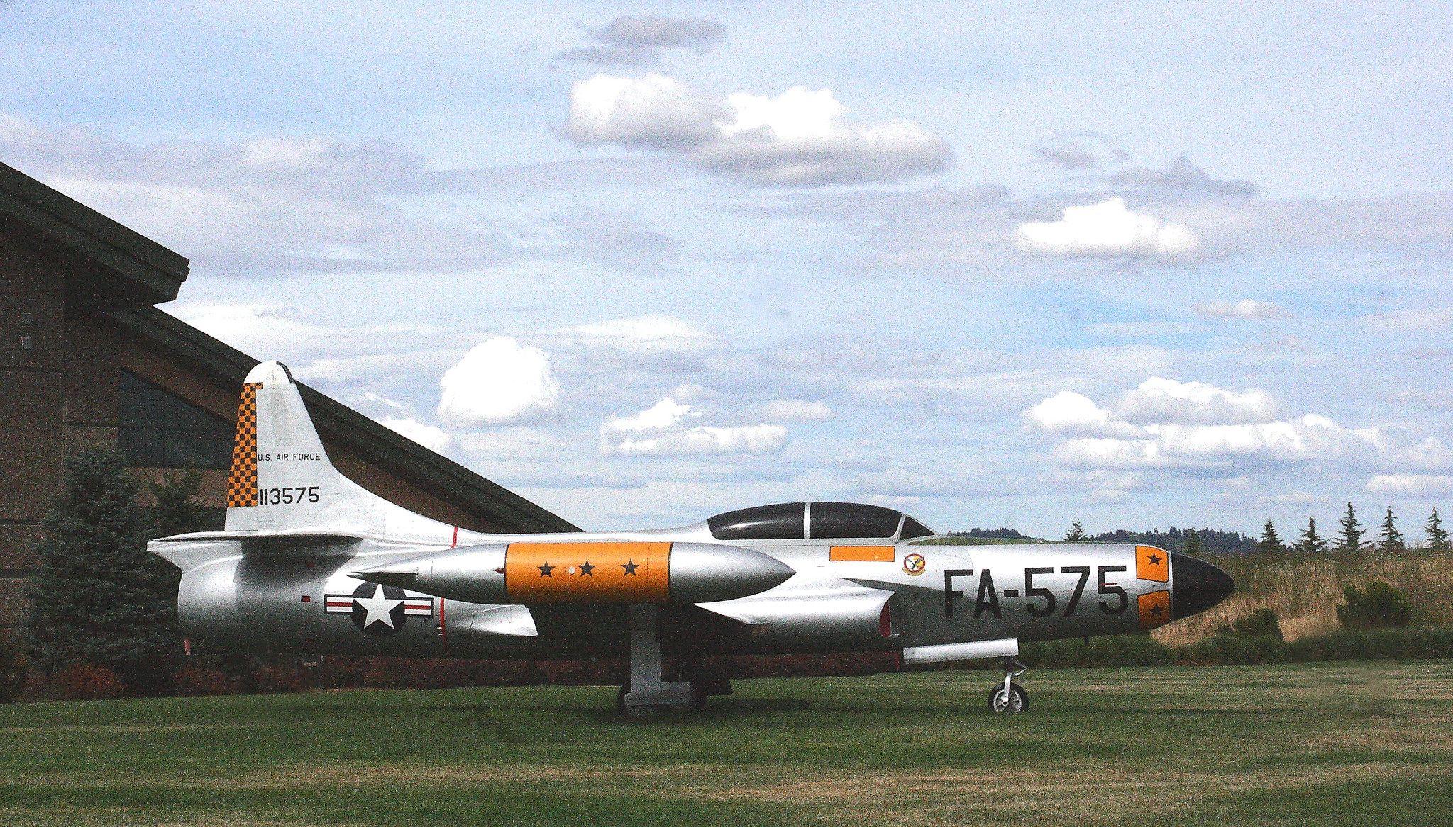 F94 Starfire Fighter jets, Korean war, Aircraft