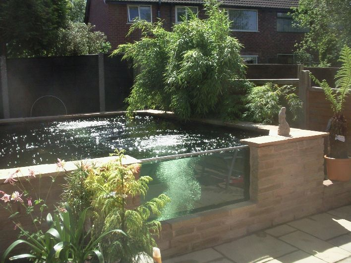 This idea perfect fits to a modern gardens ten pomys for Modern fish pond ideas
