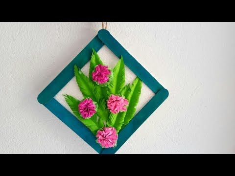 Wall Hanging Wall Decoration Ideas With Paper Valoblogi Com