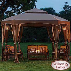 Wilson & Fisher® 10' x 12' Sienna Octagon Gazebo (cheaper version than the Sears one) - $250