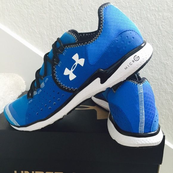 Under Armour Running Shoes SZ10 Brand new in box Price is FIRM!!! Please don't ask for discounts not unless if you want to bundle. THANKS!!! Under Armour Shoes Athletic Shoes