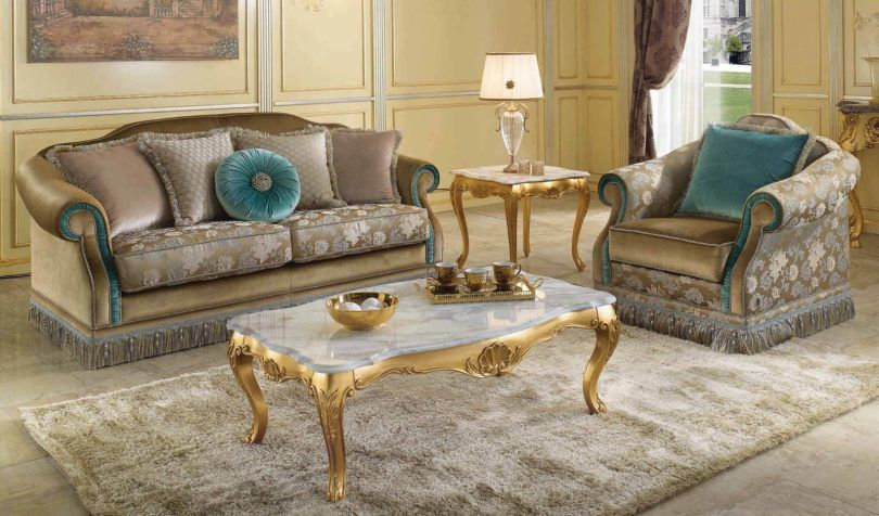 Scappini C High End Classical Sofa Table Luxury Furniture