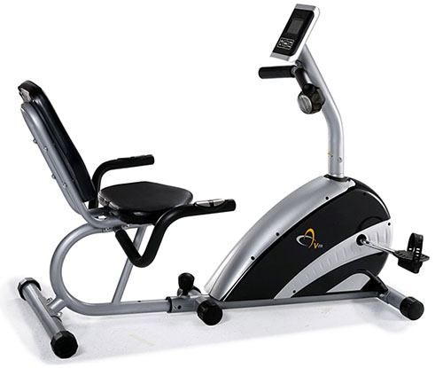 Recumbent stationary exercise bike review by garage gym gym