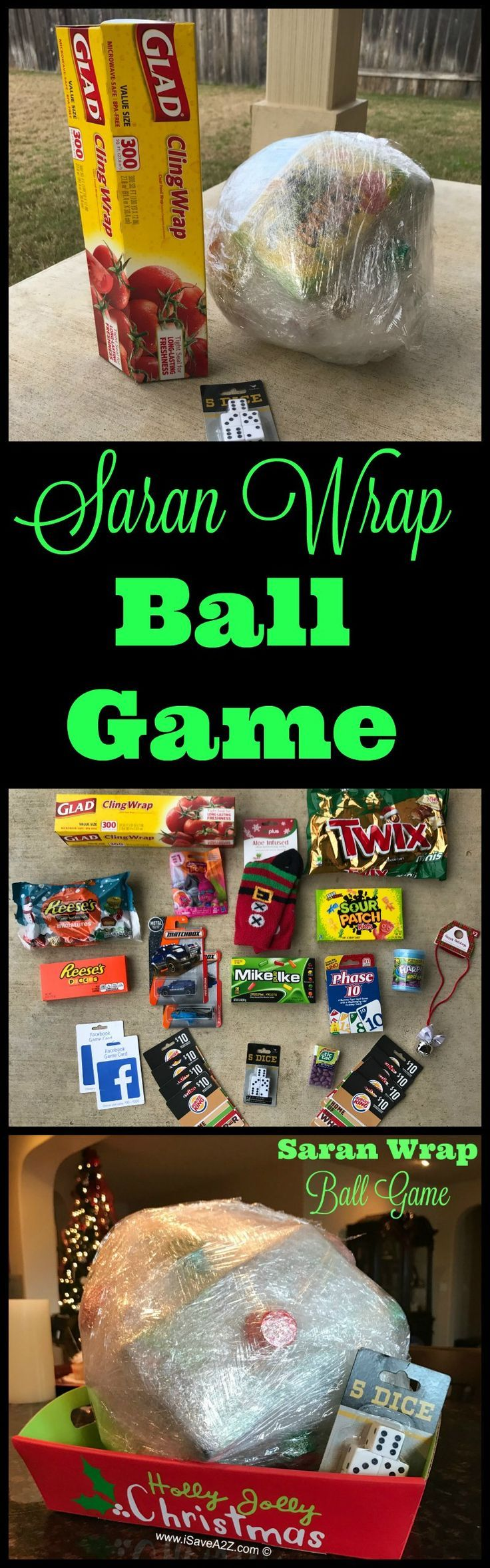 The Saran Wrap Ball Game Rules and Ideas   Gaming, Party games and ...