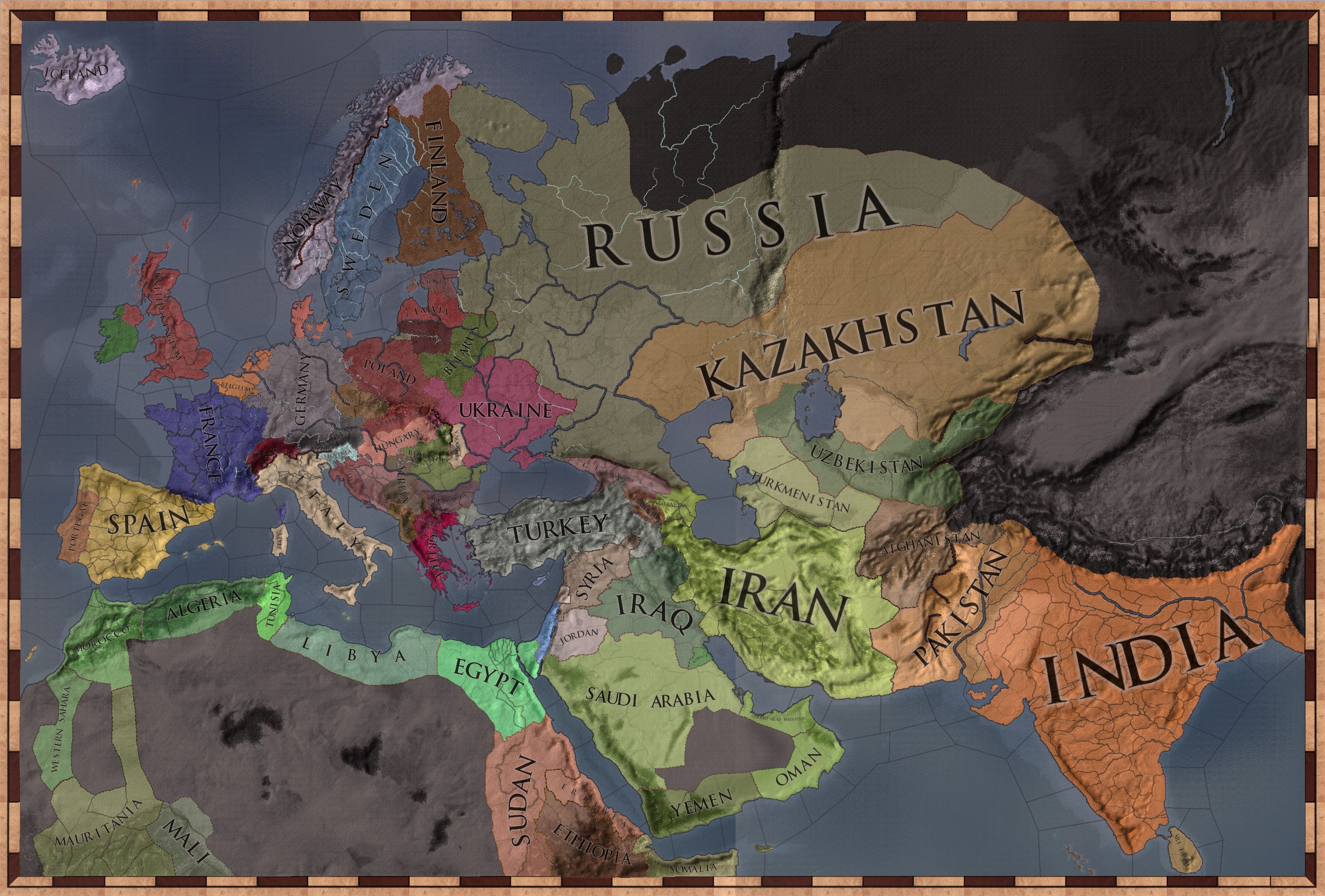 CK2 Today | Maps | Perm, Art, Painting