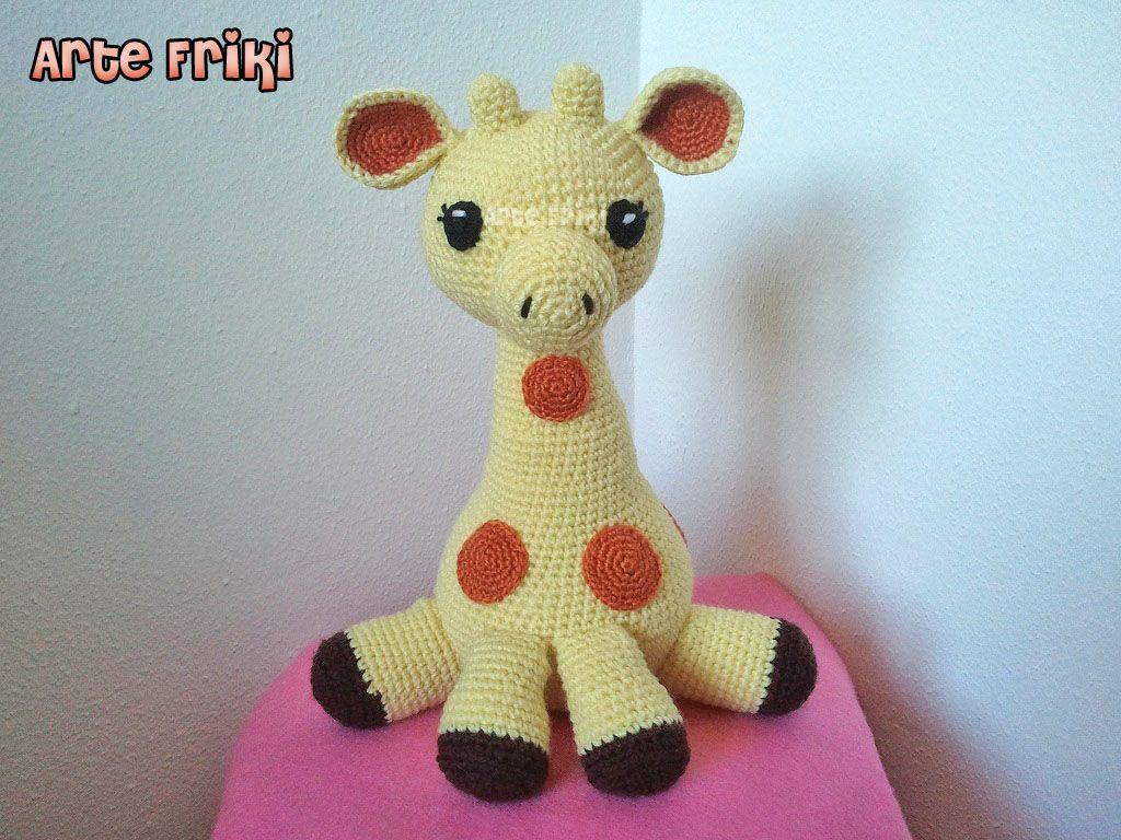 jirafa amigurumi giraffe amigurumi doll peluche muñeco ganchillo ...