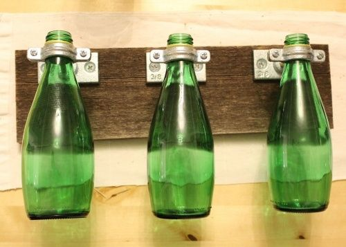 Craft With Perrier Bottles Perrier Vases I Have So Many Perrier