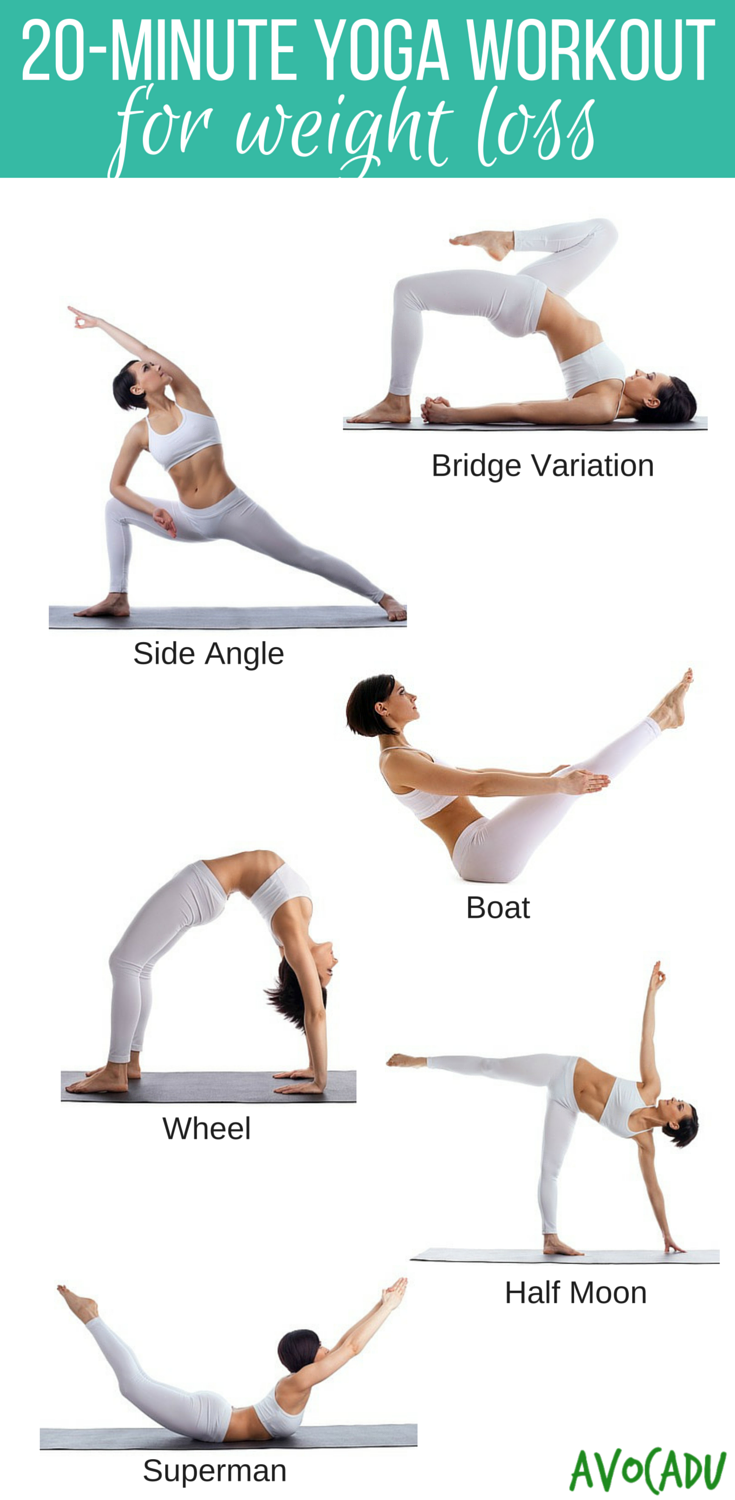 free yoga poses for weight loss