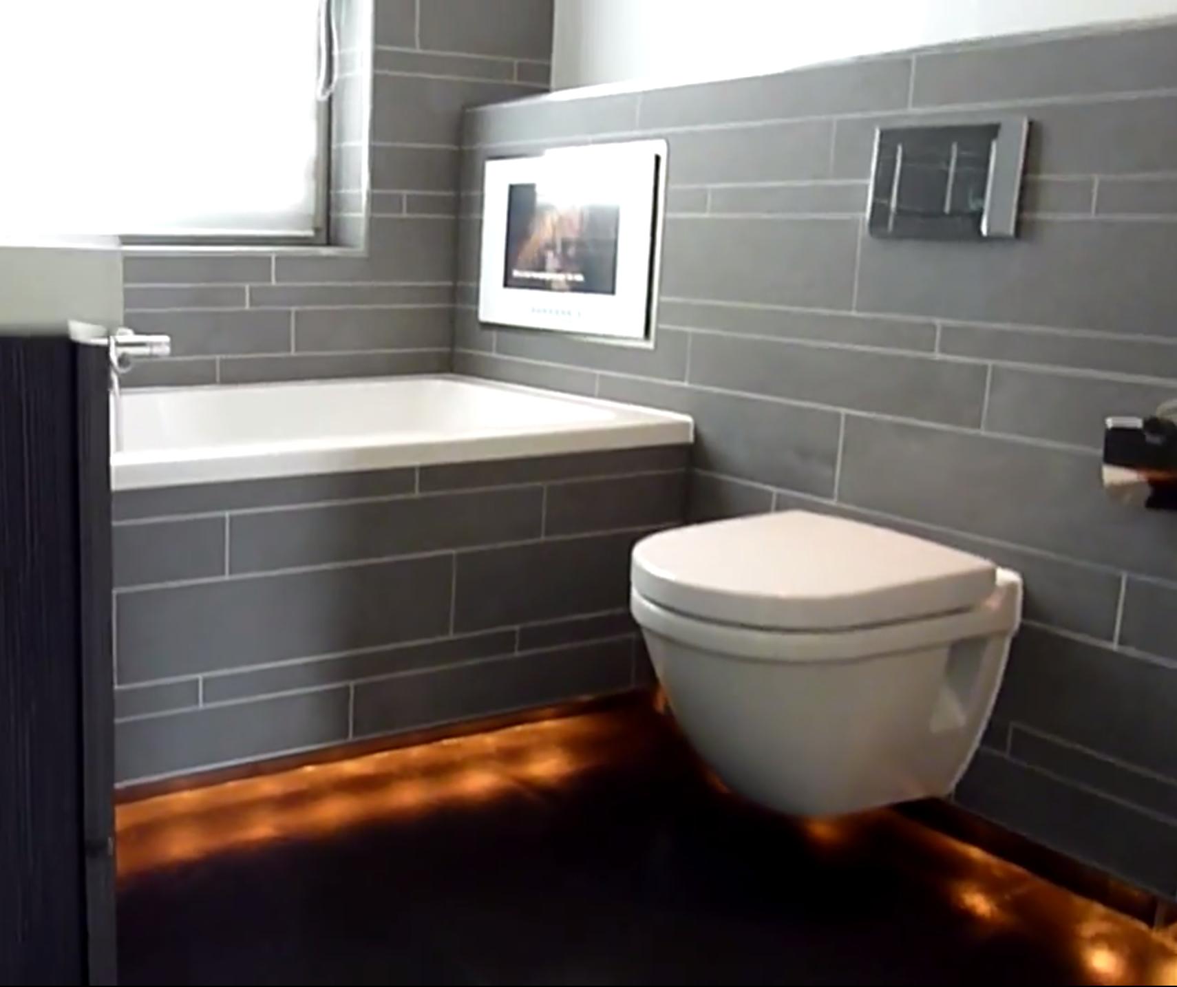 Mooie verlichting onder bad en toilet | Badkamer | Pinterest | Om