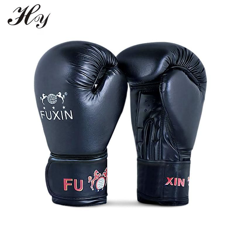 Mma Black Boxing Glove Taekwondo Muay Thai Fight Kick Boxing Gloves Training Sports Equipments Guantes De Boxeo Box Handscho Boxing Gloves Kickboxing Taekwondo