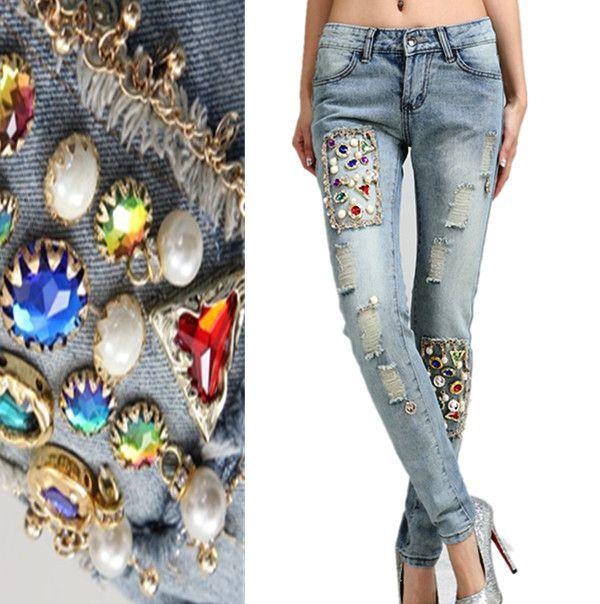 come decorare giacche di jeans