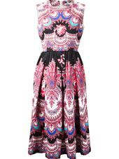 MSGM - floral print dress #genteroma