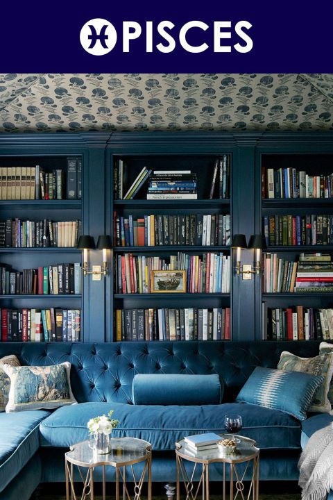 The Best Paint Color For Your Zodiac Sign Color Home Library