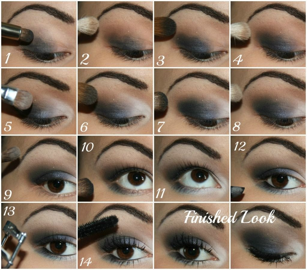 Navy Smokey Eye Tutorial :) | Beauty and Makeup - Kailan Marie ...